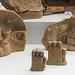 Locri, Grotta Caruso: miniature terracotta votive caves and herms