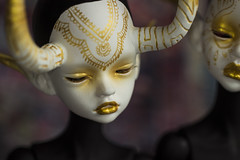 Otto (MisMantis) Tags: bjd ball jointed doll mind chateau dyed dyeing legit gold henna tattoos larina laia dim