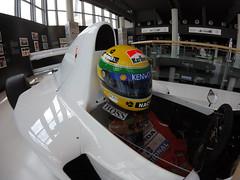 McLaren MP4/8 Lamborghini (Marc Sayce) Tags: mclaren mp4 8 mp48 v12 engine helmet race suit ayrton senna f1 formula 1 one grand prix car lamborghini museum museo factory sant agata bolognese italy italia