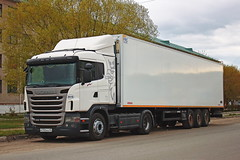 Scania G400 M 750 KO 45 (RUS) (zauralec) Tags: kurgan street1stmay scania g400 m 750 ko 45 rus город курган улица автомобиль грузовик скания