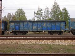 Lodz Zabieniec 5.05.2017 009 (Groch1) Tags: stacja łódźżabieniec pkp cargo pkpcargo wagon węglarka eaos eaosw 825153560891