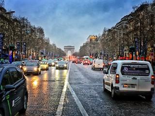 Paris  France ~ Arc de Triomphe, in full Arc de Triomphe de l'Étoile, massive triumphal arch