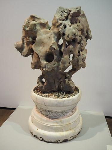 Taihu Rock on Marble Pedestal. Museum Dahlem