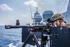 170329-N-JH293-062 (Nelson Dillehunt) Tags: ussgb greenbay ussgreenbay lpd20 japan sasebo bhr esg ctf76 forwarddeployed us7thfleet pacific ocean water navy ship sailors wisconsin packers vmm262 31stmeu nbu7 marines bonhommerichard bhresg patrol philippinesea jpn