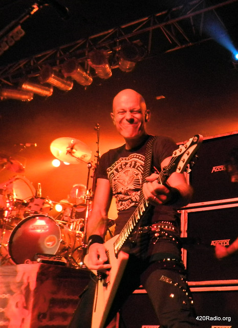 Accept - Roseland Theater, Portland, OR -  2012