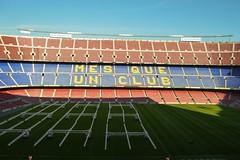 Camp Nou 6 (Seán Creamer) Tags: barcelona spain campnou football soccer uefa catalonia iniesta messi fcbarcelona ladislaokubala ballondor championsleague europeancup goldenboot valdés xavi puyol guardiola cruyff ramos mésqueunclub laliga