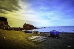 Barcas en espera (libretacanaria) Tags: barcas elburrero ingenio grancanaria canarias atardecer sunset mar sea nikond610 samyang14mm
