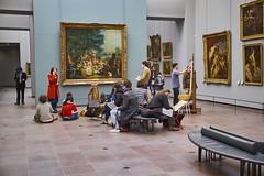 The art class (aylmerqc) Tags: paris france muséedulouvre thelouvre louvre gallery museum art beauxarts