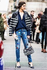 7 (inesabachurina) Tags: streetstyle aplique jeans