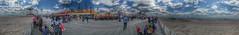 Coney Island Panoramic (artsynancy) Tags: coneyisland brooklyn coneyislandbrooklyn spring amusement throwback urban seaside shore boardwalk carousel entertainment newyorkcity newyork brooklynnewyork