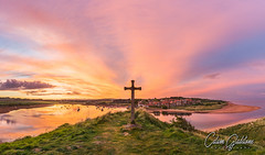 Cross on the Hill (Calum Gladstone) Tags: northumberland alnmouth cross sunset epic landscape leefilters canon6d