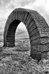 IMG_0653bw (griff griff) Tags: stridingarches dumfriesgalloway andygoldsworthy cairnhead sculpture southernuplands moniaive byre