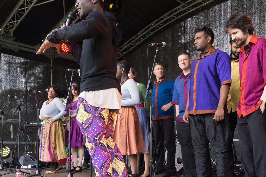 Discovery Gospel Choir At Africa Day 2017 In Dublin [Ireland Leading Multicultural Choir]-128820