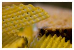 Waffle Cut (Timothy Valentine) Tags: food 0517 chips macromonday home 2017 eastbridgewater ma unitedstates us