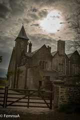 The Addams family home..... (femmaryann) Tags: addamsfamily creepy gothic architecture vampires ghosts vampire ghost scary zombies zombie horror goth bat bats