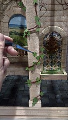 1/6 scale Courtyard project (Ken Haseltine Regent Miniatures) Tags: 16 vineyard diorama regentminiatures kenhaseltine grapes pisa