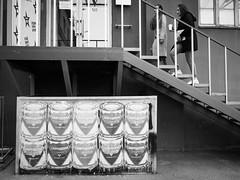 (赤いミルク) Tags: grain vignette blackandwhite monochrome ビンテージ ビニル black romantism gothic コントラスト 赤 red ウォール wall ゴースト 悪魔 ghost 友人 ドア doors 贈り物 gift 地平線 horizon モノクローム 暗い street 壁 surreal intriguing 生活 life architecture texture 秋 賞賛 光 白黒 stage live 演芸 entertainment 演芸会