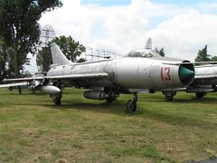 "Sukhoi Su-7 BKL 3 • <a style=""font-size:0.8em;"" href=""http://www.flickr.com/photos/81723459@N04/34056574580/"" target=""_blank"">View on Flickr</a>"