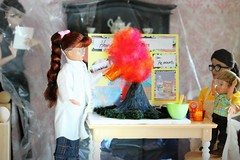Perfect Picture Cycle 5 - Round 4: The Wonderful World of Science (Bogostick) Tags: barbiediorama diorama playscale