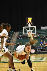 WBasketball-vs-North Texas, 1/26, Chris Crews, DSC_4977 (PsychoticWolf) Tags: 49ers basketball charlotte cusa d1 green mean ncaa ninermedia north nt texas unc uncc unt womens