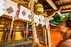 Kyoto, Japan (David Ducoin) Tags: asia boudhism japan monk prayer praying religion shinto shrine temple woman kyoto kyotoprefecture jp