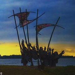 Amsterdam ramblings (Anne Young2014) Tags: sea netherlands holland memorial thewave marken