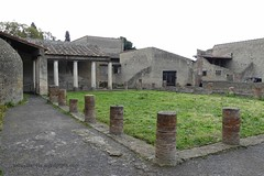 008 Central Thermae (Baths), Palaestra , Herculaneum (1) (tobeytravels) Tags: herculaneum centralthemae baths