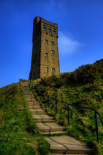 VICTORIA TOWER, CASTLE HILL, HUDDERSFIELD, WEST YORKSHIRE.