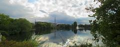 Lakeside panorama 118/365 (Ians365) Tags: lake water panorama pub restaurant 365 project365