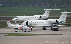 Gulfstream G650, G550 & Beech King Air B250GT HAJ EDDV Hannover Airport 24.04.2017 (mikedietrich) Tags: gulfstream gulfstreamaerospace g650 g550 beechkingair beech kingair b200 b250 businessjets executivejets privatejets