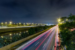 Marginal Tiete - São Paulo (Bethug) Tags: brazil lightstream longexp canon60d canon 60d marginaltiête sãopaulo
