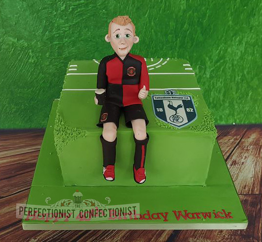 Spurs Birthday Cake Topper