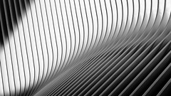 Exterior of New York City's Oculus (jbarry5) Tags: oculus oculusnyc worldtradecentertransportationhub calatravaoculus geometry abstract monochrome blackandwhite travelphotography travel newyorkcity newyork newyorkarchitecture