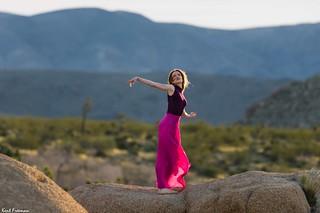 Free Me From My Pedestal - Sunrise Joshua Tree National Park