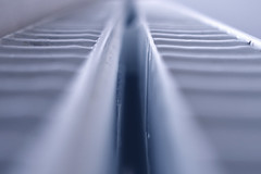 Radiator Vanishing Point [124/365 2017] (steven.kemp) Tags: perspective vanishing point radiator low pov bokeh depth field dof