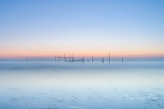 Low Tide (Ellen van den Doel) Tags: sand netherlands nature reflection mei zee sea le beach strand nat zand sky northsea blauw natuur landscape sunset hour nederland outdoor evening wet blue landschap long exposure water zonsondergang branding uur reflectie noordzee lucht 2017 hellevoetsluis zuidholland nl