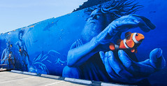 Parking Lot Mural (katiemparker) Tags: tucson arizona mural streetart painting color urban