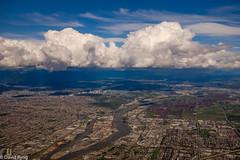 Flying over Vancouver and the Fraser River (david byng) Tags: helijet fraserriver spring 2017 landscape flying city canada britishcolumbia vancouver