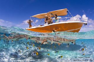 Fun day on the Lagoon of Bora Bora