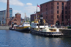 3K001185a_C (Kernowfile) Tags: liverpool canningdock dock tugboat water reflections