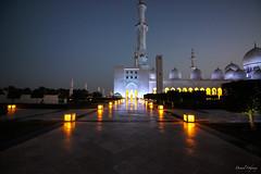 Sheikh Zayed Mosque at night (The Odyssey Experience) Tags: nightphotography uae abudhabi sheikhzayedmosque