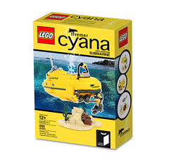 Lego Cyana Ifremer BOX - atana studio (Anthony SÉJOURNÉ) Tags: a hrefhttpsideaslegocomprojects173121 relnofollowideaslegocomprojects173121a lego cyana ifremer packaging yellow submarine explorer afol moc creator atana studio anthony séjourné