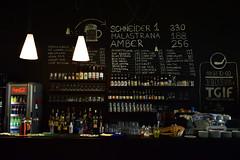 #TGIF (Vladisav Jovanović) Tags: tgif drink bar black indoor alcohol glasses lights