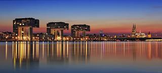 Köln Skyline Panorama