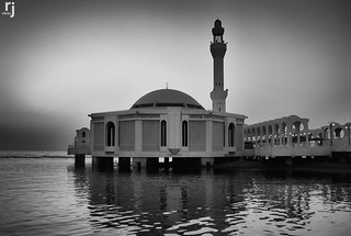 Masjid Ar Rahman, Floating Mosque, Red Sea, Jeddah