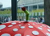 Patchwork-Schirme 6 (Sockenhummel) Tags: 2017 karlsruhe nadelwelt nadeltwelt ausstellung exhibition quilt patchwork fuji x30 fujifilm finepix fujix30 handarbeit needlework quiltausstellung nadelwelt2017 textilkunst schirme regenschirme umbrella kunst kreativ wetter regen regenwetter bunt