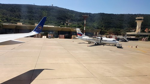 Sky Express Plane at Rhodes Airport