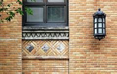 Old Philadelphia (tmattioni) Tags: sidneykimmelmedicalcollege walnutstreet stone brick window lantern philadelphia