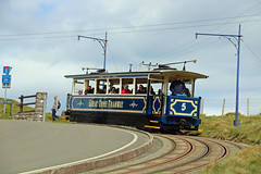 Great Orme Tramway car 5 (keith-v) Tags: great orme tramway car number 5 dating from 1902 departs halfway station starts descend ty gwyn road a hrefhttpwwwgreatormetramwaycouk relnofollowwwwgreatormetramwaycouka