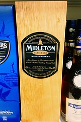 Very rare Irish Whiskey (JulieK (enjoying Spring in Co. Wexford)) Tags: tesco supermarket whiskey 117picturesin2017 advertising box alcohol ireland irish iphone5